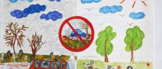 Рисунки «Берегите воздух и природу» (24 фото)