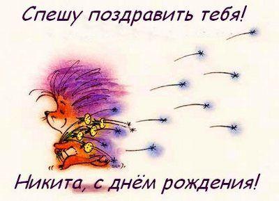 Поздравление с днем рождения никиту картинка, открытки видами петербурга