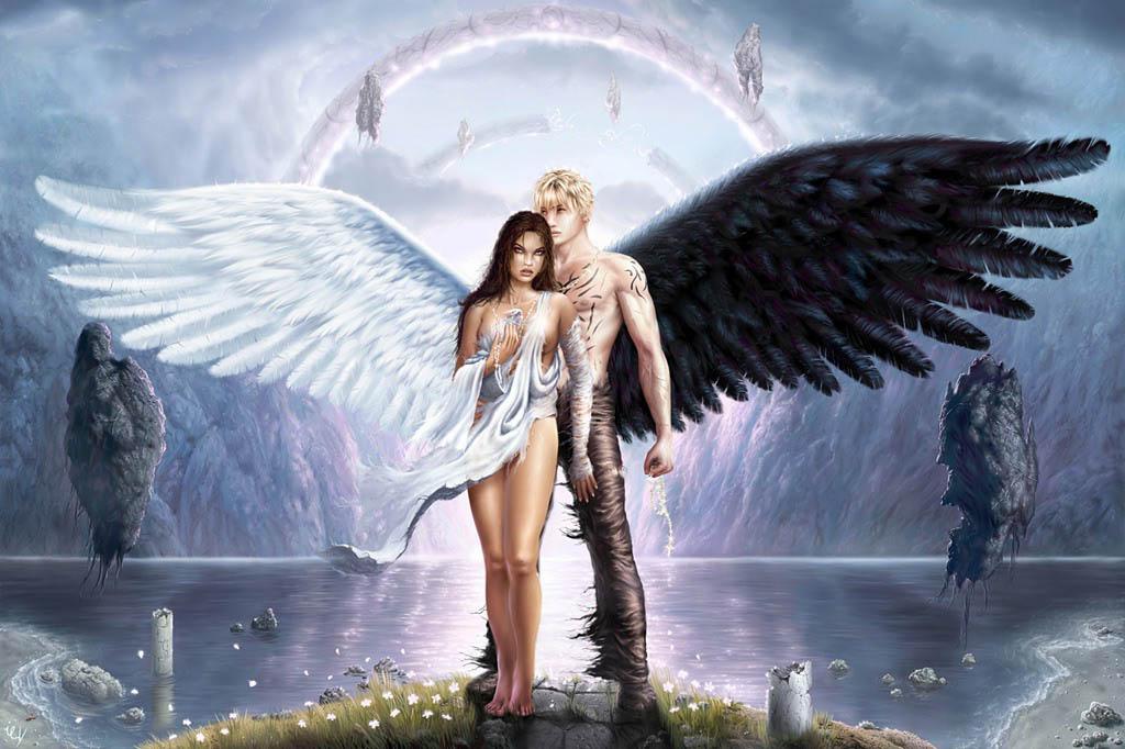 ангел и мужчина фото картинки красивые значит, был