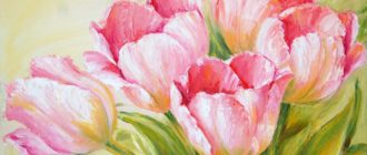 Картинки с красивыми нарисованными цветами (38 фото)
