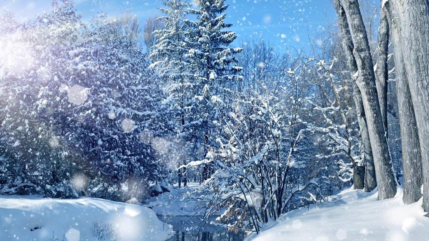 обои на рабочий стол новый год зима красивые большие на весь экран бесплатно