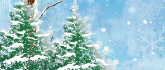 Красивые зимние картинки на аву (35 фото)