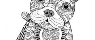 Картинки для срисовки животных (31 фото)
