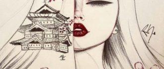 Картинки девушки для срисовки (33 фото)