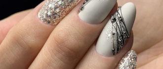 Картинки красивый дизайн ногтей на Новый Год (34 фото)