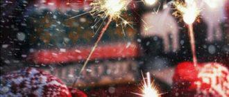 Новогодние картинки на аву для девушек (36 фото)