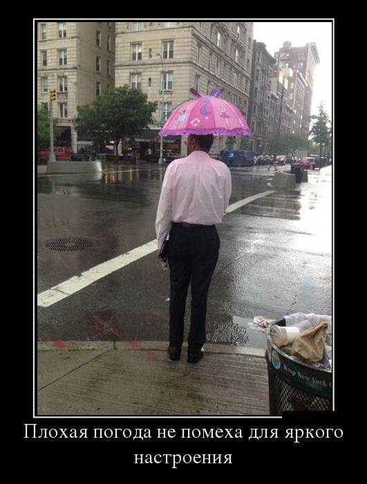 прикольные картинки про дождь который надоел ситуация через