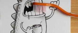 Прикольные рисунки для срисовки карандашом (32 фото)