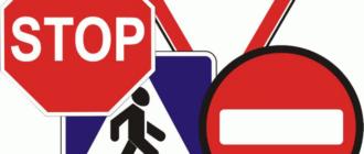 Дорожные знаки с описанием (40 фото)