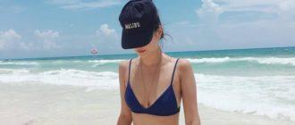 Фото девушек на море на аватарку (46 фото)
