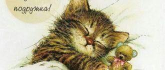Красивые картинки «Спокойной ночи, подружка!» (31 фото)