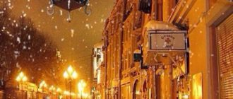 Красивые картинки зима, ночь, город, фонари (41 фото)