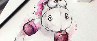Классные рисунки для срисовки (45 фото)