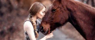 Красивые картинки с девушками и лошадками на аву (41 фото)
