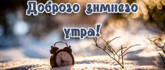 Картинки с пожеланием прекрасного снежного зимнего утра (46 фото)