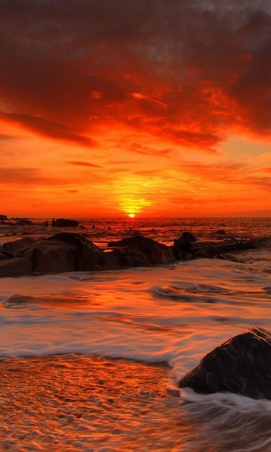 Стихи вечерний закат - сборник красивых стихов в Доме Солнца
